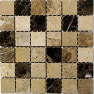 Мозаика из натурального камня Bonaparte Turin 48 (сетка 30.5Х30.5Х0.7 см)