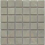 Керамическая мозаика Bonaparte Velvet Grey (керамогранит) (сетка 30X30Х1 см)