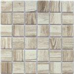 Керамическая мозаика Bonaparte Wooden Light (керамогранит) (сетка 30.6X30.6Х0.6 см)