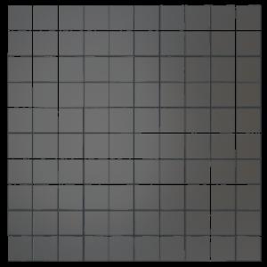 Зеркальная мозаика матовая ДСТ «Бм25» бронза (30Х30 см) (чип 2.5Х2.5 см)