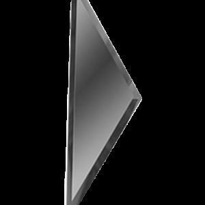 Зеркальная графитовая плитка с фацетом 10 мм ДСТ «РЗГ1-01б» ПОЛУРОМБ (10Х34 см)