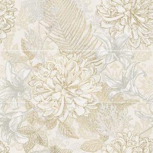 Панно настенное AltaСera «Bloom» Bloom Aroma S/3 SW11ARM01 (60Х60 см)