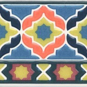 Бордюр KERAMA MARAZZI «Алькасар» AD\A446\17000 (15Х3Х0.6 см)