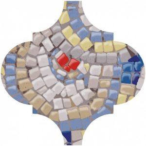 Плитка настенная KERAMA MARAZZI «Арабески Майолика» голубой 65005 (30Х26Х0.7 см)