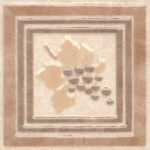 Керамогранит (вставка напольная) KERAMA MARAZZI «Вилла Флоридиана» AD\A242\SG9179 (7.2Х7.2Х0.7 см)