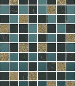 Плитка настенная KERAMA MARAZZI «Алькала» черный 7200 (50Х20Х0.8 см)