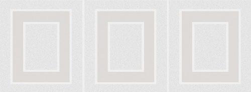Плитка настенная (декор) KERAMA MARAZZI «Вилланелла» Геометрия белый MLD/A68/15000 (40Х15Х0.8 см)