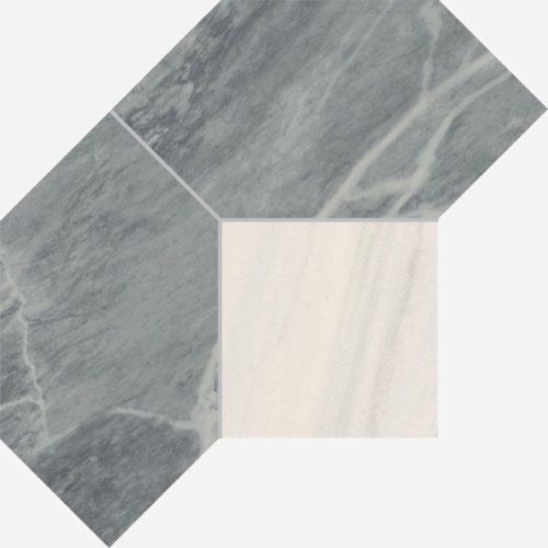 Керамогранит Italon «Charme Extra Floor Project» Мозаика Atlantic Polygon люкс (21Х28.5 см)