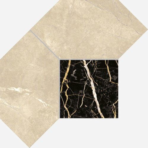 Керамогранит Italon «Charme Extra Floor Project» Мозаика Arcadia Polygon люкс (21Х28.5 см)
