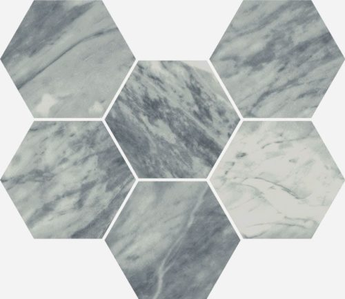 Керамогранит Italon «Charme Extra Floor Project» Мозаика Atlantic Hexagon патинированный (25Х29 см)