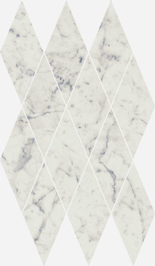 Керамогранит Italon «Charme Extra Floor Project» Мозаика Carrara Diamond люкс (28Х48 см)