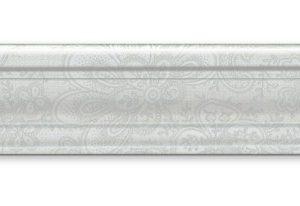 Бордюр KERAMA MARAZZI «Ауленсия» багет серый BLE017 (25Х5.5Х1.8 см)