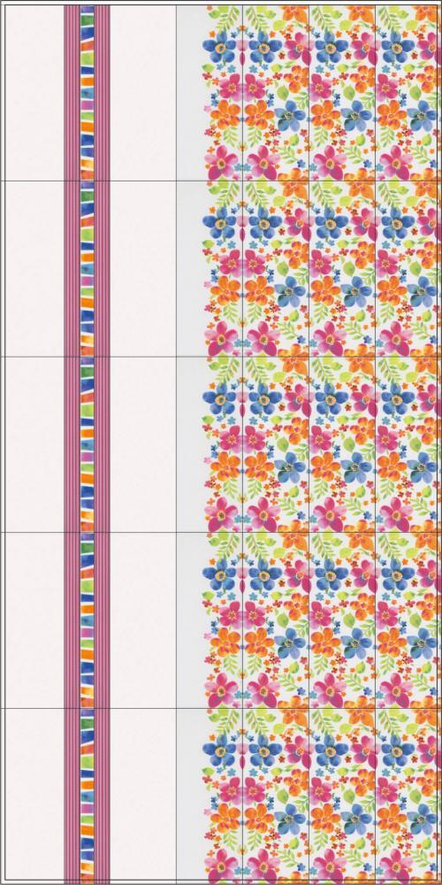 Бордюр KERAMA MARAZZI «Венсен» салатный структура LSA007 (40Х3.4Х0.9 см)