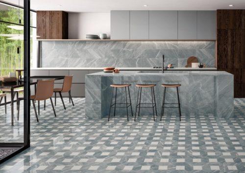 Керамогранит Italon «Charme Extra Floor Project» Мозаика Laurent Polygon люкс (21Х28.5 см)