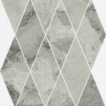 Керамогранит Italon «Charme Extra Floor Project» Мозаика Silver Diamond люкс (28Х48 см)