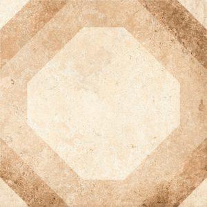 Керамогранит (вставка) GRASARO «Tivoli» светло-бежевый G-240/S/t03 (9.5Х9.5Х0.9 см)