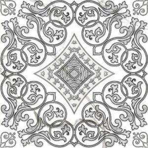 Керамогранит (декор) GRASARO «Classic Marble» G-270/G/d04 (40Х40Х0.8 см)