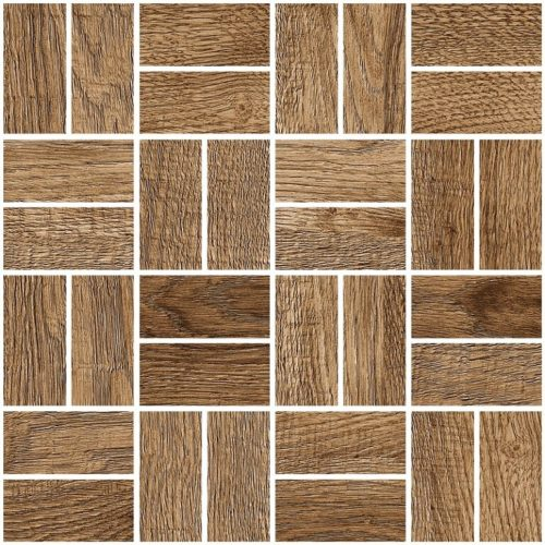 Керамогранит (мозаика) GRASARO «Italian Wood» G-252/SR/m12 (24.5Х24.5Х1 см)