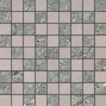 Керамогранит (мозаика) GRASARO «Crystal» светло-серый G-600(610)/РR/m01 (30Х30Х1 см)