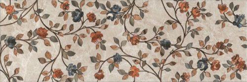 Плитка настенная (декор) KERAMA MARAZZI «Гран-Виа» цветы обрезной VT\A26\13083R (89.5Х30Х1.1 см)