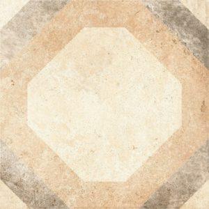 Керамогранит (вставка) GRASARO «Tivoli» серый G-242/S/t03 (9.5Х9.5Х0.9 см)
