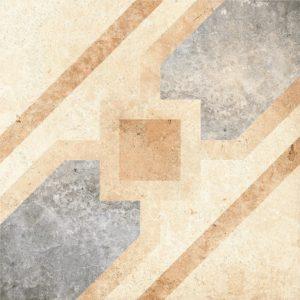 Керамогранит (декор) GRASARO «Tivoli» светло-бежевый G-240/S/d04 (40Х40Х0.8 см)
