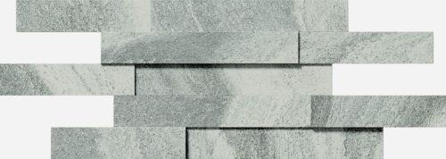 Керамогранит (декор) Italon «Climb» Iron Brick 3D натуральный (28Х78 см)