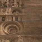 Керамогранит (декор) GRASARO «Italian Wood» венге G-253/SR/d01 (60Х20Х1 см)