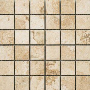 Керамогранит Italon «NL-Stone» мозаика Almond патинированный (30Х30 см)
