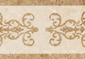 Керамогранит бордюр Italon «NL-Stone» Bloom натуральный (8.5Х45 см)