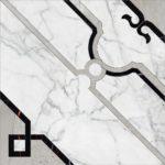 Керамогранит (панно) KERRANOVA «Marble Trend» K-1000/MR/d01-cut (60Х60Х1 см)
