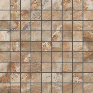 Керамогранит (мозаика) KERRANOVA «Premium Marble» Brown K-956/LR/m01 (2w956/m01) (30Х30Х1 см)