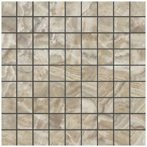Керамогранит (мозаика) KERRANOVA «Premium Marble» Light Brown K-954/LR/m01 (2w954/m01) (30Х30Х1 см)