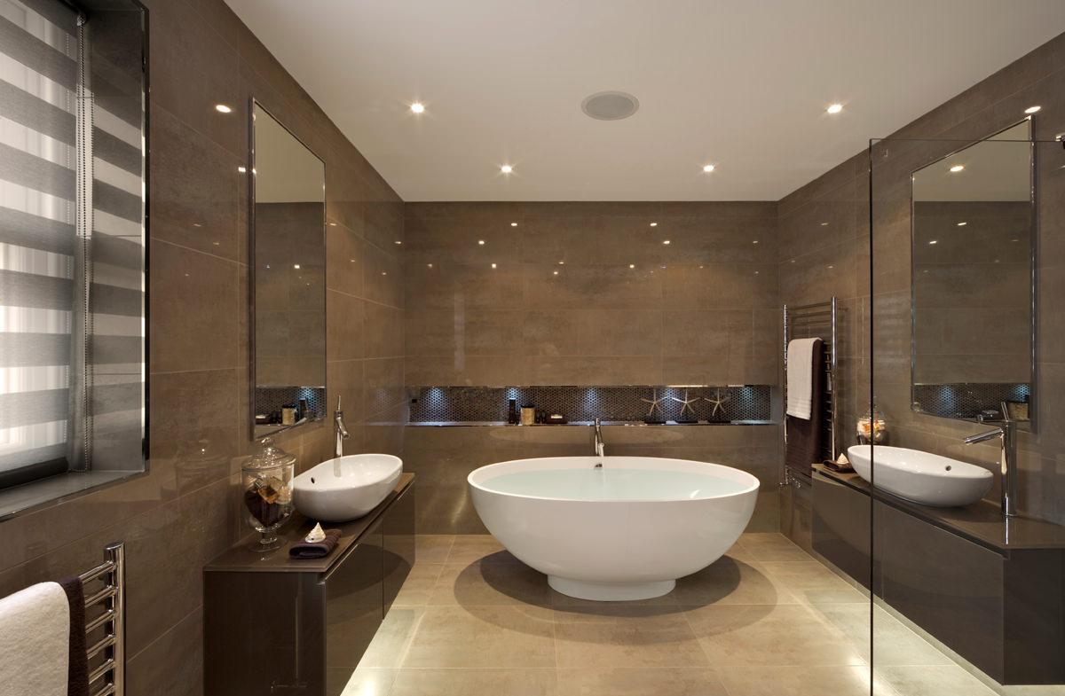 Как сделать большую ванную комнату в маленькой квартире – умные дизайнерские идеи