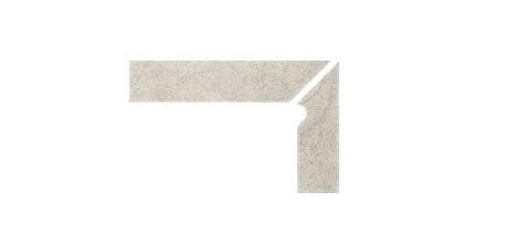 Плинтус для ступеней Interbau & Blink «Nature Art»110 Tangra Grau, правый, 2 части