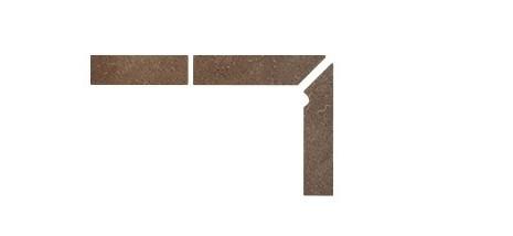 Плинтус для ступеней Interbau & Blink «Alpen» 045 Engadin, правый, 3 части