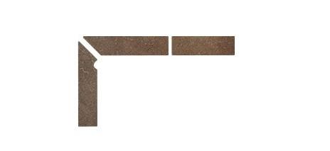 Плинтус для ступеней Interbau & Blink «Alpen» 045 Engadin, левый, 3 части