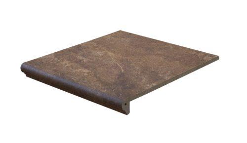 Ступень фронтальная Interbau & Blink «Abell» 271 Красно-коричневый (31Х32Х0.95 см)