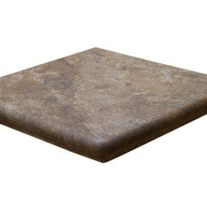 Ступень угловая Interbau & Blink «Abell» 271 Красно-коричневый (32Х32Х0.95 см)