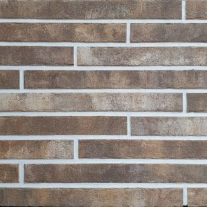 Плитка под кирпич DeKeramik «Quarzit» DKK 851 Берилл, ригель (46.8Х4Х1 см)