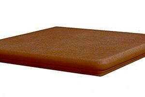Ступень угловая Interbau & Blink «Alpen» 059 Красная глина R11/B (32Х32Х0.9 см)