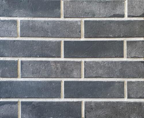 Плитка под кирпич Interbau & Blink «Brick Loft» INT 576 Anthrazit (24Х7,1Х1см)