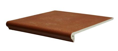 Ступень фронтальная Interbau & Blink «Alpen» 059 Красная глина R11/B (31Х32Х0.9 см)