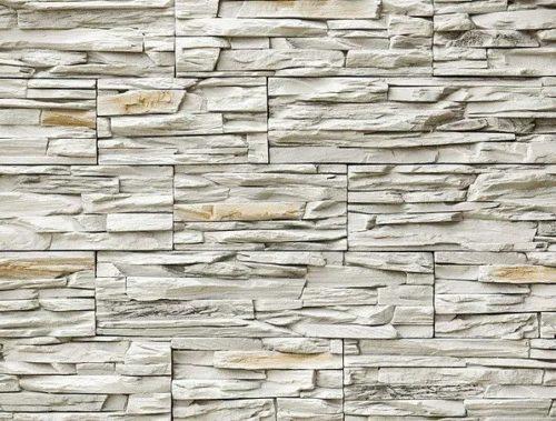 Декоративный камень BERGSTONE «Скалистый берег» 160100 белый (19.2/29.4/38.6Х9.9Х3 см)