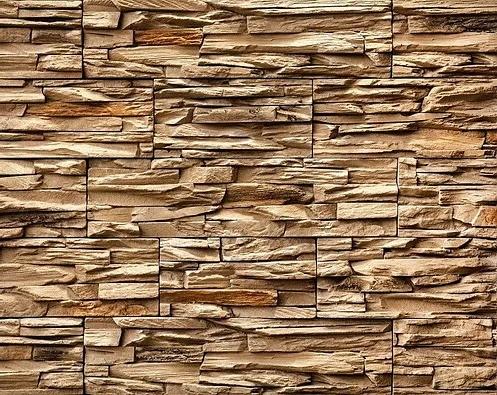 Декоративный камень BERGSTONE «Скалистый берег» 160103 кофе с молоком (19.2/29.4/38.6Х9.9Х3 см)