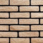 """Декоративный камень Bergstone """"Тула"""" 161801 светло-бежевый (23.1Х6Х0.8-1 см)"""