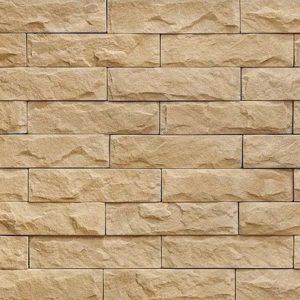 "Декоративный камень Bergstone ""Мраморный каньон"" 161100 белый (20Х5Х1.5-2 см)"