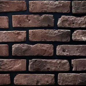 "Декоративный камень Bergstone ""Бельгия"" 161300 белый (24Х6.8Х1.3-1.6 см)"