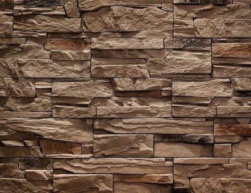 Декоративный камень BERGSTONE «Каменный утес» 160201 светло-бежевый (19.4/29/39.6Х9.8Х2.5 см)