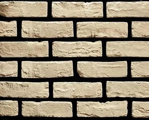 "Декоративный камень Bergstone ""Лондон"" 160300 белый (20-21Х6.5Х1.2-1.5 см)"